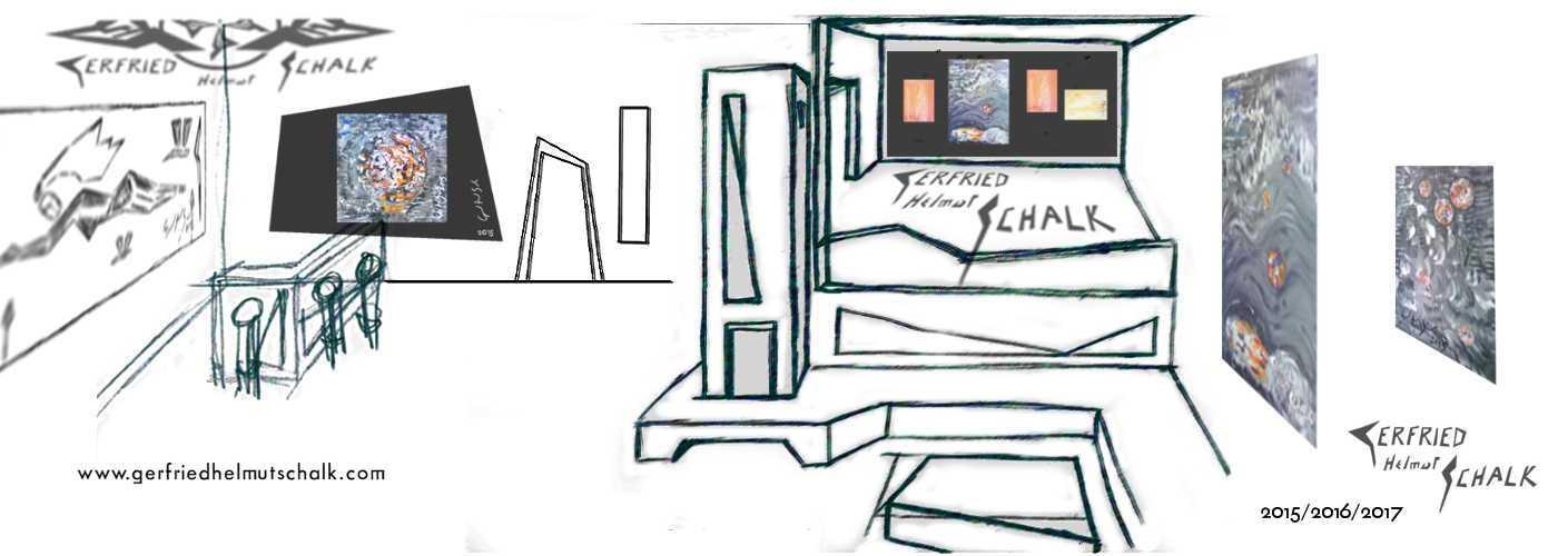 Moderne Kachelöfen als Raumteiler Entwurf
